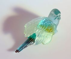 cast glass birds    #lifeinstyle #greenwithenvy