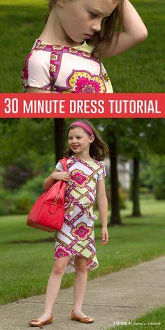 30 Minute Dress Tutorial