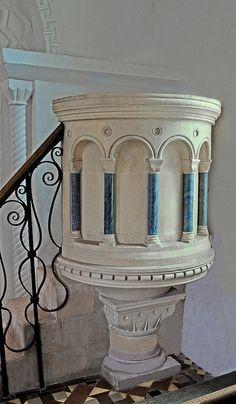 church pulpit, centuri pulpit