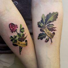 Botanical Tattoos By Sasha Unisex