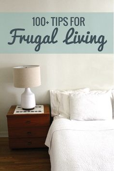 100 tips for Frugal Living / Apt Therapy