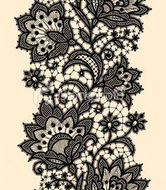 Love this lace pattern. Shoulder/collar bone?