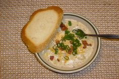 TSR Version of Tony Roma's Baked Potato Soup by Todd Wilbur. Photo by dewgiesgirl