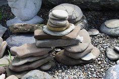 An Inukshuk is built in the image of man – two strong legs, a pelvic stone, shoulders, and a head.