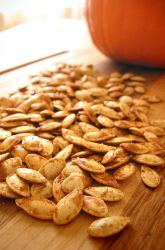 Activities: Roasted Pumpkin Seeds