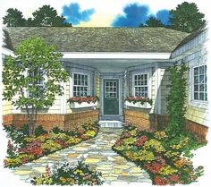 Hmmmm....interesting small house plan.