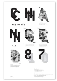 change the world #type