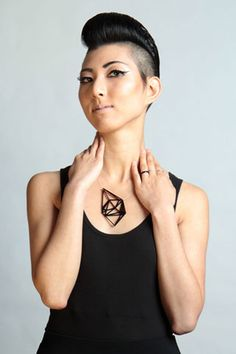 Such a beautiful idea - they 3D print jewelry that maps out the places you've been. Your piece comes with a postcard of the map you've created. Meshu - turns your places into beautiful objects