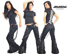 Black Amok Chor Pants