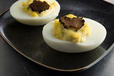 Truffled Deviled Eggs