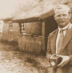 """67 years ago today (April 9), Dietrich Bonhoeffer was hanged by the Nazis. ""What has become evident in [reexamining the role of the German Church during the Nazi era] is the depth of the chasm between the ideals the Church had always set for itself and the way it responded to the brutalization of the German government under Adolf Hitler. Dietrich Bonhoeffer was one of the few church leaders who stood in courageous opposition to the Fuehrer and his policies [U.S. Holocaust Memorial Museum]."""""