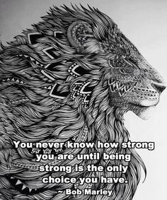 On Strength When We Have No Other Choice...