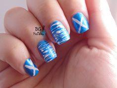 patriot nail, patriotic nails