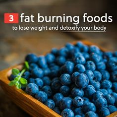 Eat more of these fat burning foods to lose weight and detoxify your body & mind. #weightloss
