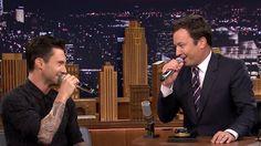 Jimmy Fallon, Adam Levine bring Sinatra, Azalea and more to 'Tonight'