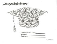 Classroom Freebies: Preschool or Kindergarten Graduation Certificates