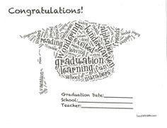 Classroom Freebies: Preschool or Kindergarten Graduation Certificates