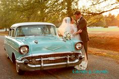 A fun wedding portrait! Location Hope Plantation, Windsor NC. www.grovesandgrovesphoto.com