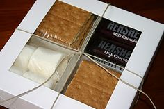 Smores package | great DIY gift idea