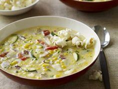 Corn Chowder.  Love this recipe.