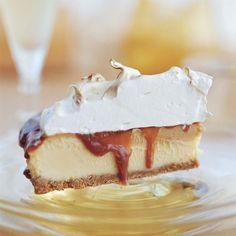 food recipes, tart, meringu pie, thanksgiv pie, caramel meringue pie, dessert
