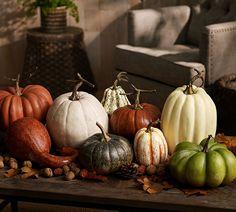 Decorate with plenty of pumpkins.