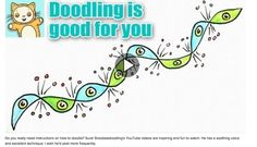 Doodling is good for the brain and creativity < soothing instructional video