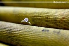 Wedding ring in the firefighter hose