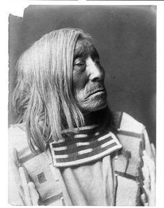 vintage native american portrait