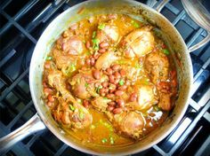 Caribbean Stewed Chicken With Red Beans Recipe