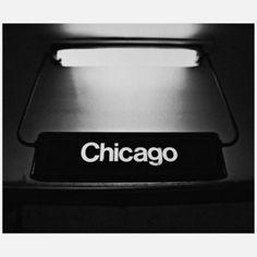 Lit Chicago Metal Print 20x24, $89