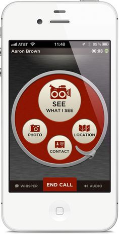 The iOS Post - Sidecar Lets you Share Location, Live Video and Photos While on a Call, forFree
