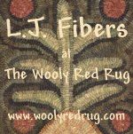 Laurie Larsen of the Wooley Red Rug