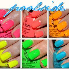 China Glaze summer neons!