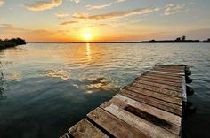 wood pier
