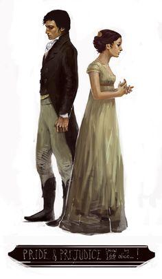 Lizzie Bennet & Mr Darcy