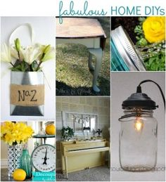 decor, idea, 154 fabul, home projects, crafti, hous, homes, home diy projects, parti
