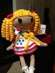 Ravelry: Lala doll in white and yellow pattern by Teresa Alvarez yellow pattern