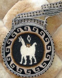 Peruvian Crochet Purse