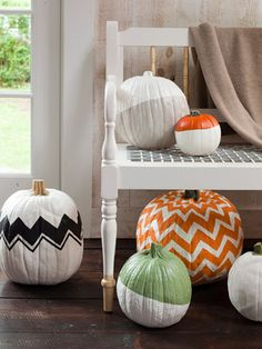 Hit the road, Jack! Carving just doesn't hold a candle to these aha! ideas for painting, decorating, and displaying your Halloween pumpkin.