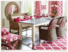 Ballard Designs | Messina Dining Room