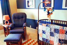 Modern Nautical #Nursery from @BabyCenter