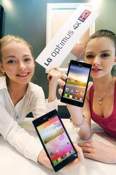 LG Optimus 4X HD Quad Core Android Smartphone Announced