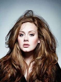 oh adele, we adore the volume of your hair.