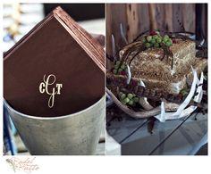 cake wedding, antler, weddinggroom cake, monogram, cake stands, rustic groom