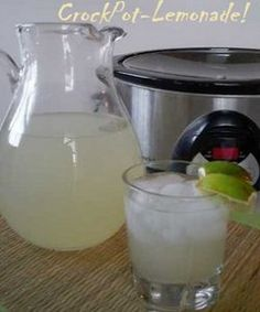 Slow Cooker Lemonade | AllFreeSlowCookerRecipes.com