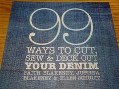 upcycled t shirt ideas | Sweet Someday: No-Sew Upcycled Denim Bracelet