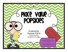 Place Value Popsicles: Tens and Ones