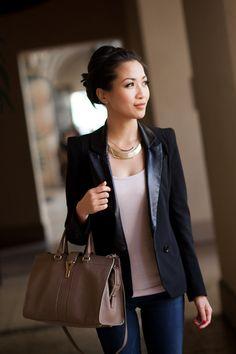 Basic Uniform :: Black blazer