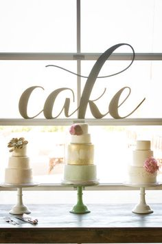 #CAKE ...need we say more? {Birds of a Feather Events}
